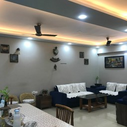 3 BHK Full Furnished Flat Available On Sale