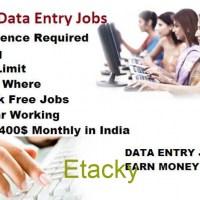 Data entry Job. Good salary