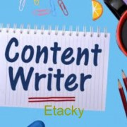 Required content writter for our company