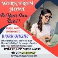 Grab Now! Limited Seats for Home Based Work