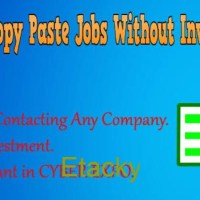 Simple Copy Paste Jobs