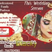 Bridal make-up in Ranchi
