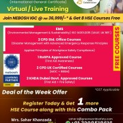 Great Offer On NEBOSH Course in Mumbai