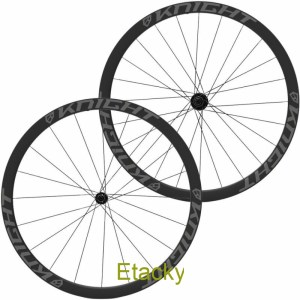 KNIGHT COMPOSITES 35 TUBELESS AERO CARBON CLINCHER R45 WHEELSET (CENTRACYCLES)