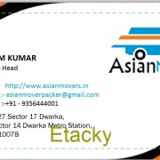 Asian Movers and Packers Delhi| IBA Approved | Call-9354484704