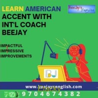Online American Accent Classes by Sr. Coach Beejay