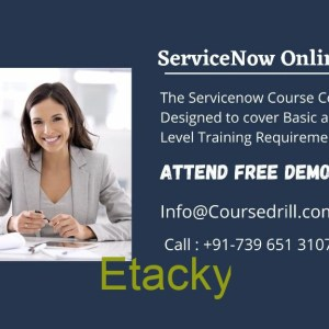 Learn Online ServiceNow Training with course drill