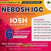 Join NEBOSH IGC & get IOSH MS + 6 International HSE Courses FREE