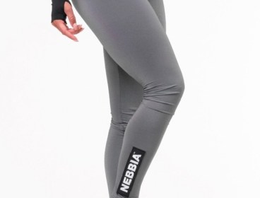 Nebbia Dark Grey Scrunch Butt Leggings