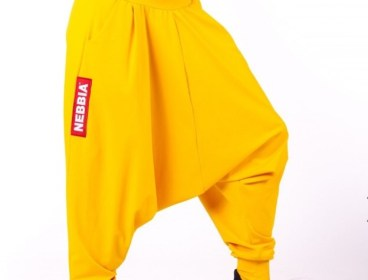 Nebbia Yellow Aladdin pants
