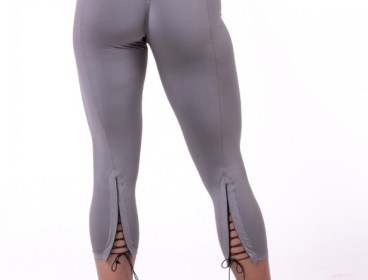 Nebbia Metallic Lace-up 7/8 leggings