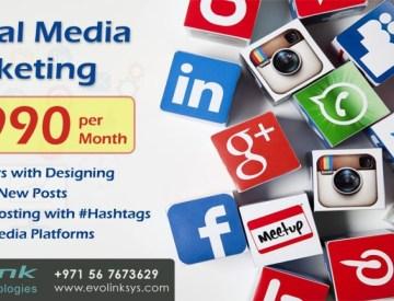 Social Media Marketing AED 990 per month
