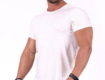 Nebbia Light Brown Be rebel! T-shirt