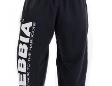 Nebbia Black Hard Core Fitness Sweatpants