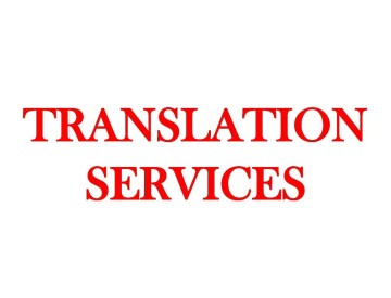 Written Translation Services (from & to Arabic language)