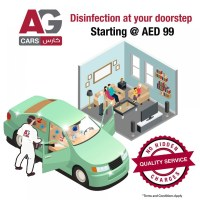Disinfection at your doorstep @ AED 99