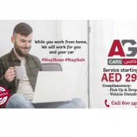 Service with free Pick Up Drop Off and Disinfection  starting from AED 299