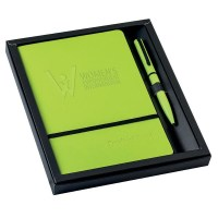Notebook - Pen Set Green