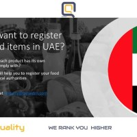 Do you want to register your Food Products in UAE?