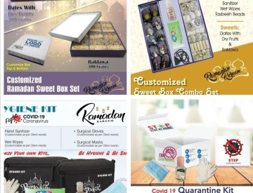 Ramadan /Eid  Corporate Gifts / Hygiene Kits