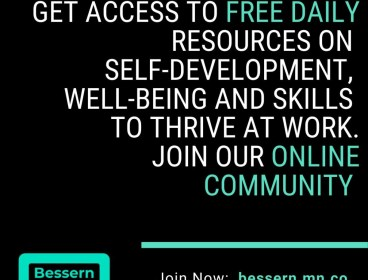 Free learning resources and online coaching to thrive at work - Check our community site