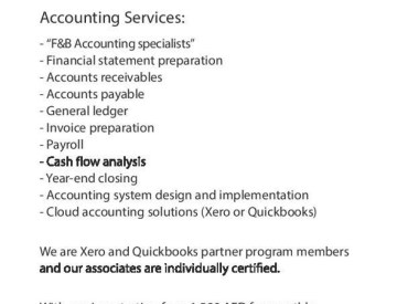 Contactless Outsourced Accounting Services - Sign up in May and receive your first month FREE