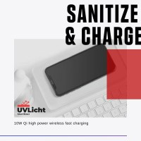 UVLicht Sterilizer and Wireless Charger