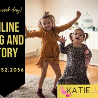 Online Sing and Story with Katie Jane Dubai for 6 months to 6 years