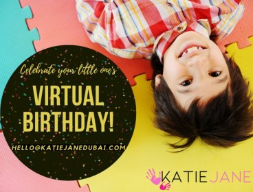 Virtual Birthday Parties with Katie Jane Dubai