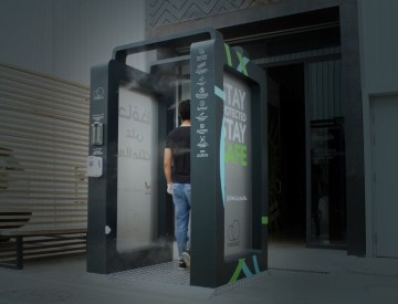 PuroGate | A smart sanitation gate for your business