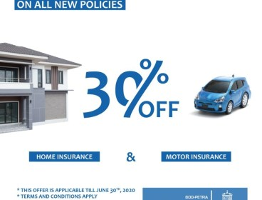 Petra is Saving you 30% Off On All New Policies
