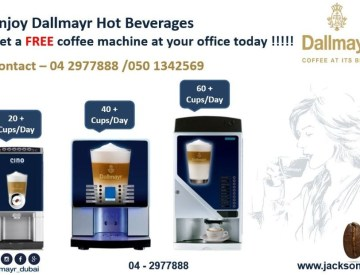 Coffee Machine Supply Free of Cost