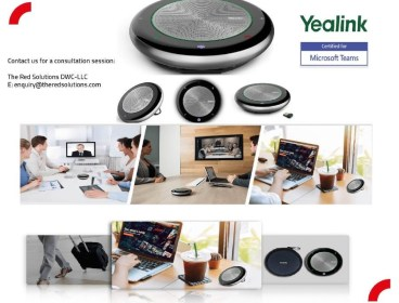 Yealink Speaker Phones for Microsoft teams - Free installation & Training !