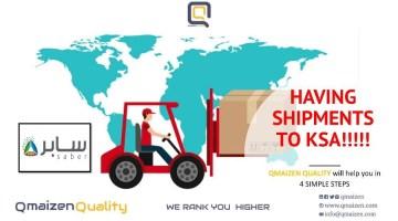 Shipments' Certificates to KSA
