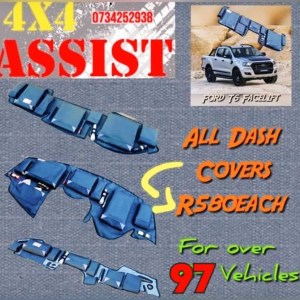 Dash Covers 4x4 & 4x2