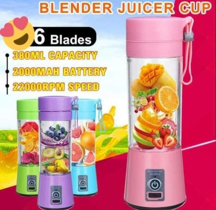 Rechargeable blenders