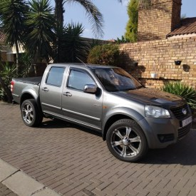 2012 GWM STEED 5 DOUBLE CAB 2.5 TCI DIESEL