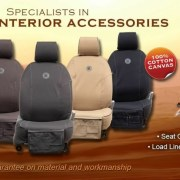 Stone Hill Canvas Seat Covers