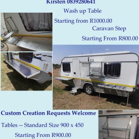Beautiful Aluminium Camping and Caravan Accessories