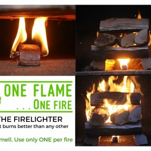 One flame One fire firelighter