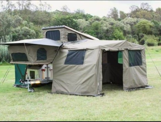 Commander Rally awning Side panels & Draft panel