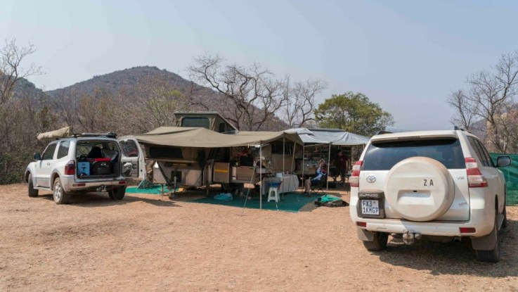 Dog friendly, no mobile reception camping in Limpopo