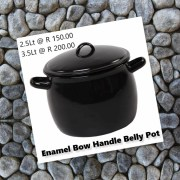 Enamelware - perfect for camping!