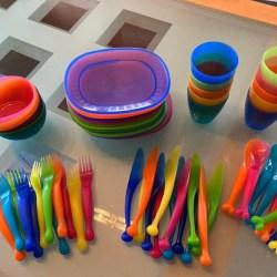 Vaisselle IKEA pour enfants