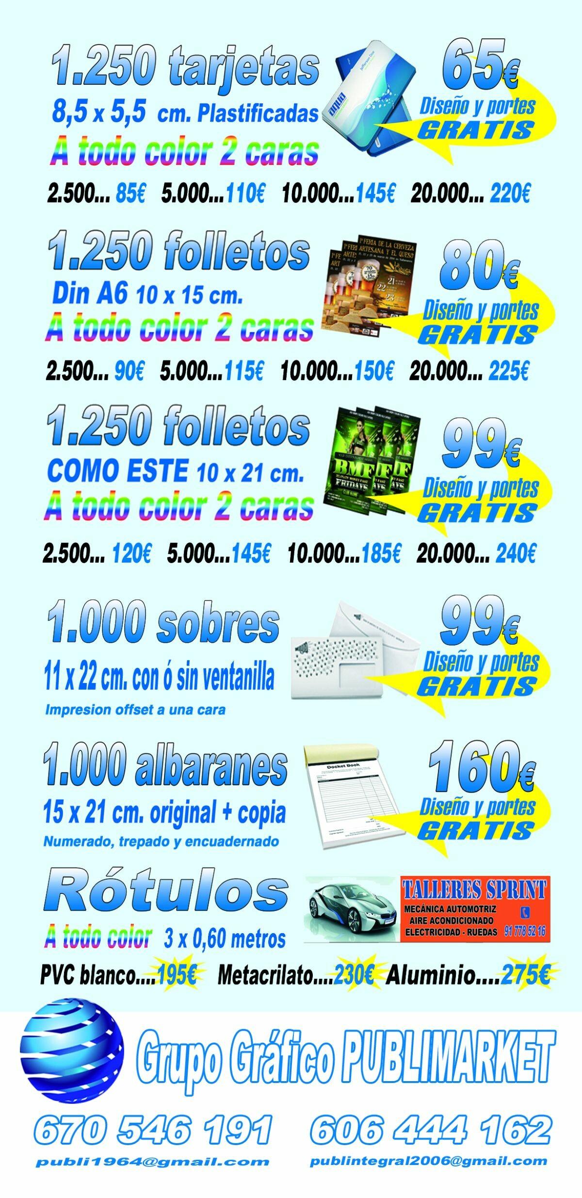 GRUPO GRAFICO PUBLIMARKET
