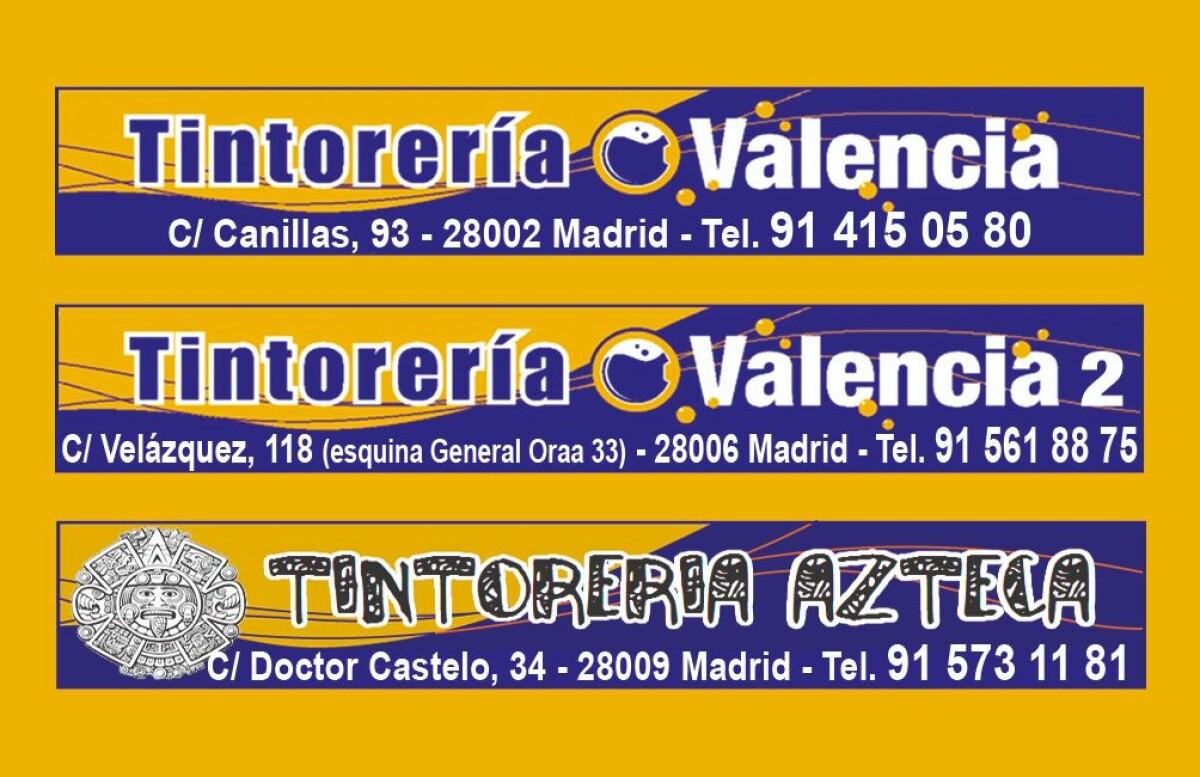 TINTORERIA VALENCIA.