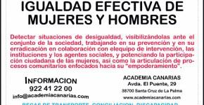 Promoción para la igualdad Efectiva de Mujeres y Hombres
