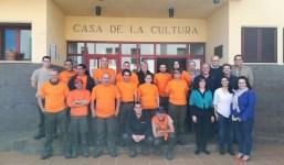 15 personas desempleadas se forman en un programa de inserción de jardinería en Puntallana