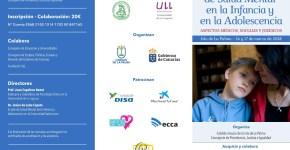 El presidente de la Audiencia Nacional y el Fiscal de Menores de Tenerife estarán en las Jornadas de la Salud Mental de Infancia y  Adolescencia