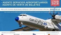 Curso Integral Aeronáutico. Con Prácticas en aeropuerto de La Palma.